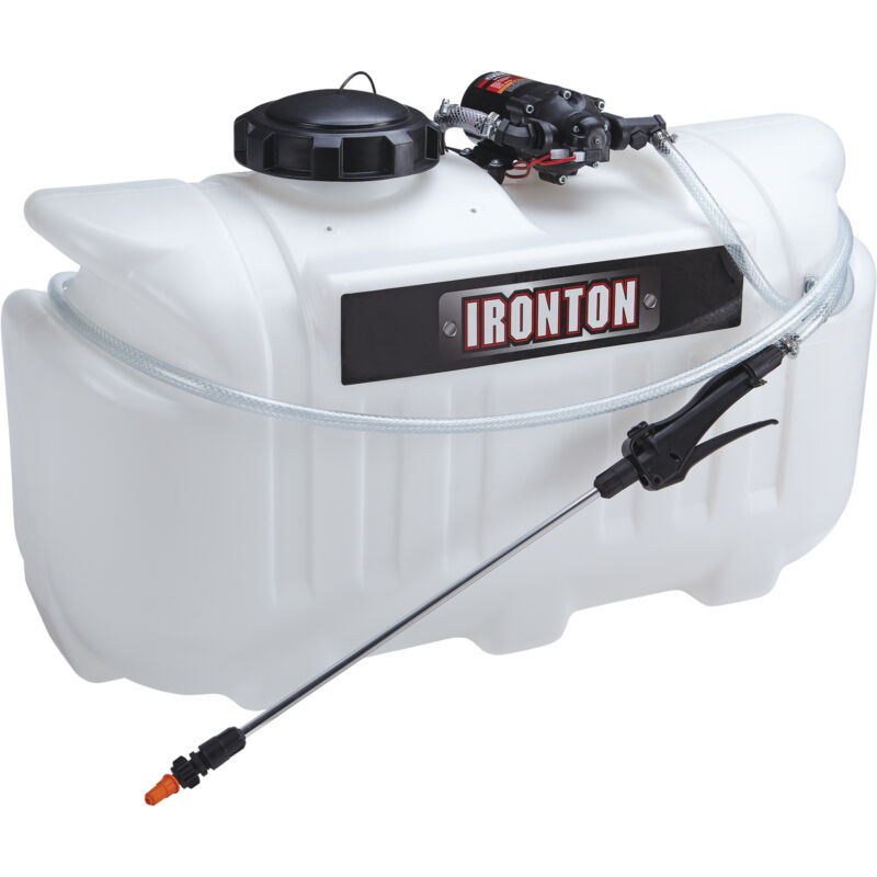 Ironton ATV Spot Sprayer - 26-Gallon Capacity, 2.1 GPM, 12 Volt
