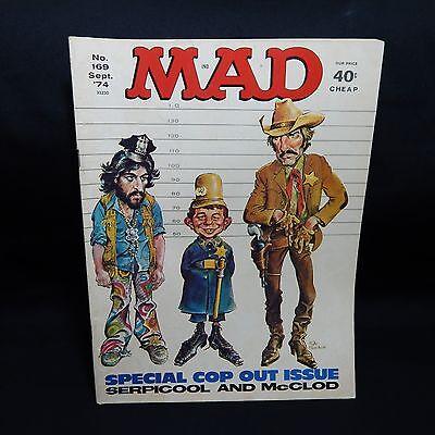 MAD #169 Sep 1974, EC SERPICOOL AND McCLOD (#3,8)
