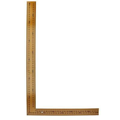 """24"""" x 16"""" Steel Set Speed Square Rafter Rule Ruler Metric Imperial Markings"""