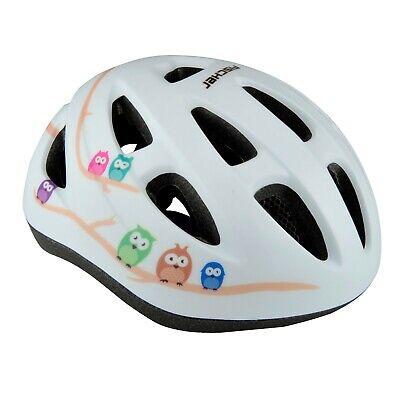 Fischer® Fahrradhelm Eule Gr. XS/S 48-54cm Kopf Helm Mädchen Kinder Fahrrad
