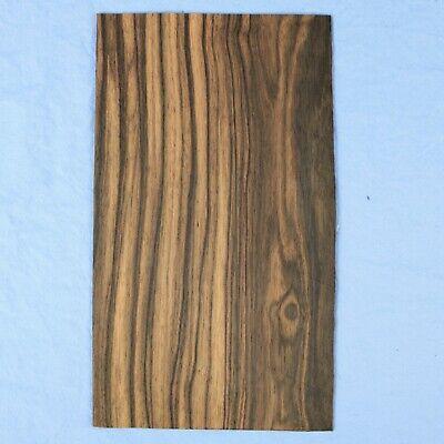 Macassar Ebony - 2 Bookmatched Wood Veneer Sheets - 5.25 X 9.25 -no Backing