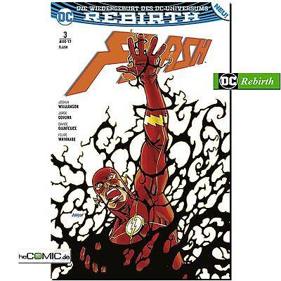 DC Rebirth Flash 3 Im Bann der Finsternis 2 Serie Panini COMIC Superhelden (Flash Der Superheld)