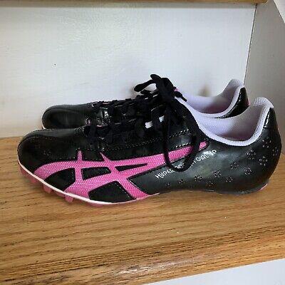 Aasics Womens Sneakers Sz 9 Eu 40.5 Black Raspberry Hyper Rocket New in Box KN27