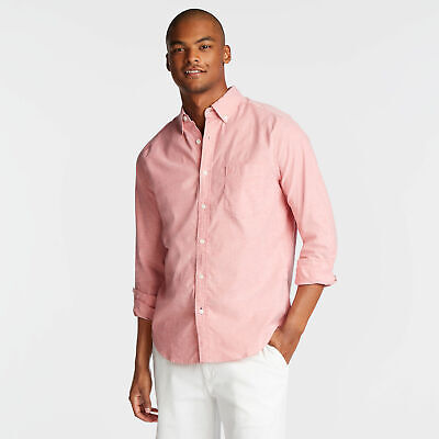 Nautica Mens Classic Fit Long Sleeve Oxford Shirt
