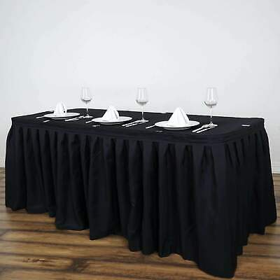 Table Skirts For Wedding (14 Foot ~NEW~ Polyester Table Skirt For Wedding Party)