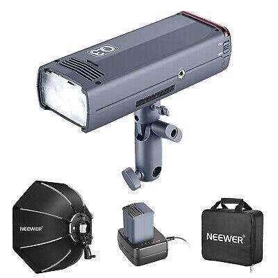 Neewer Q3 200Ws 2.4G TTL Flash Strobe 1/8000 HSS Cordless Monolight Pocket-size