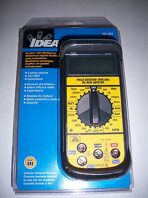 IDEAL Test-Pro Contractor-Grade Multimeter 3 Phase Rotation True RMS -