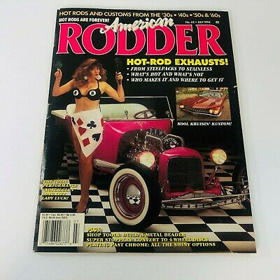 American Rodder Magazine July 1994 Hot Rod Exhausts