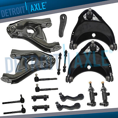 Front Upper Lower Control Arm Kit GMC Savana Chevy Express 1500 2500 2WD