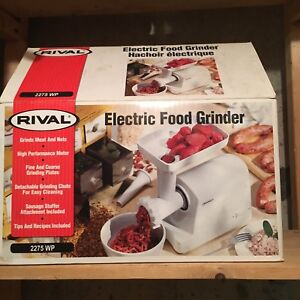 Electric meat grinder RIVAl