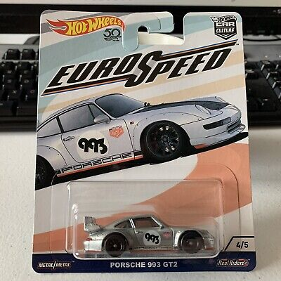 Hot Wheels Car Culture Real Riders Euro Speed Porsche 933 GT2 Urban Outlaw