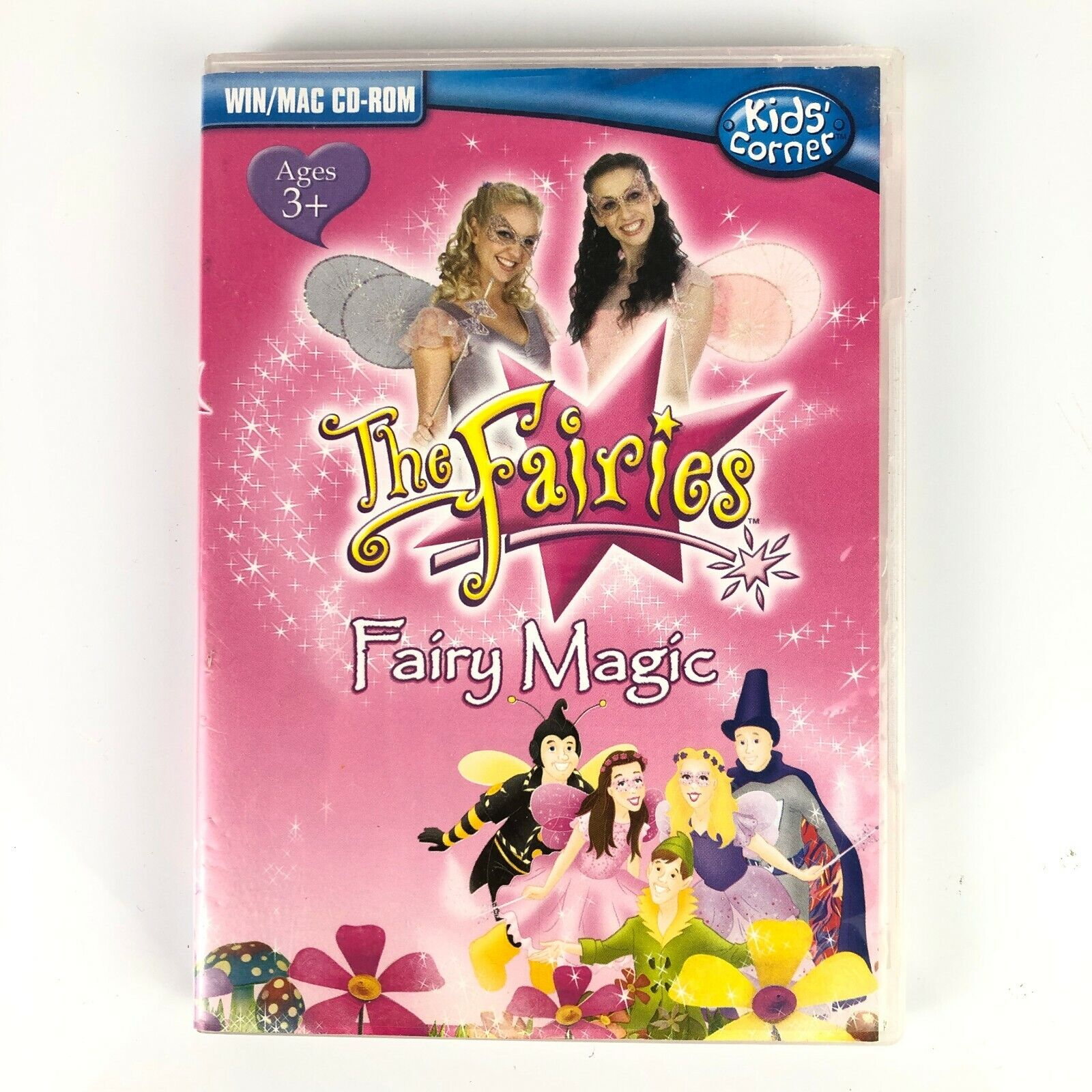 Computer Games - The Fairies Fairy Magic PC Game CD-ROM 2009 Computer Puzzle Draw Match