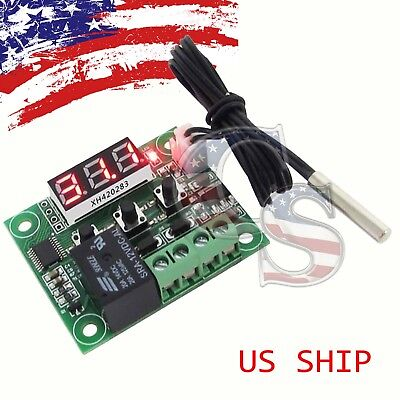 W1209 12v -50-110c Digital Thermostat Temperature Control Switch Sensor Module