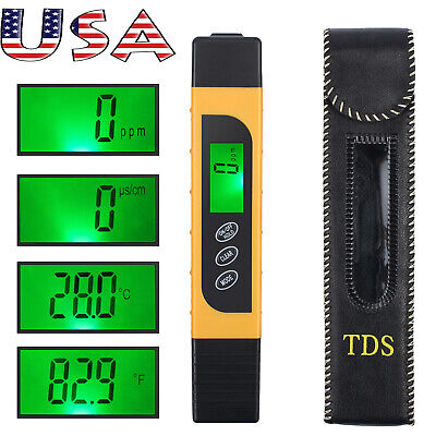 Quality Test (Professional Quality TDS EC Temperature Meter Water Quality Test Meter)