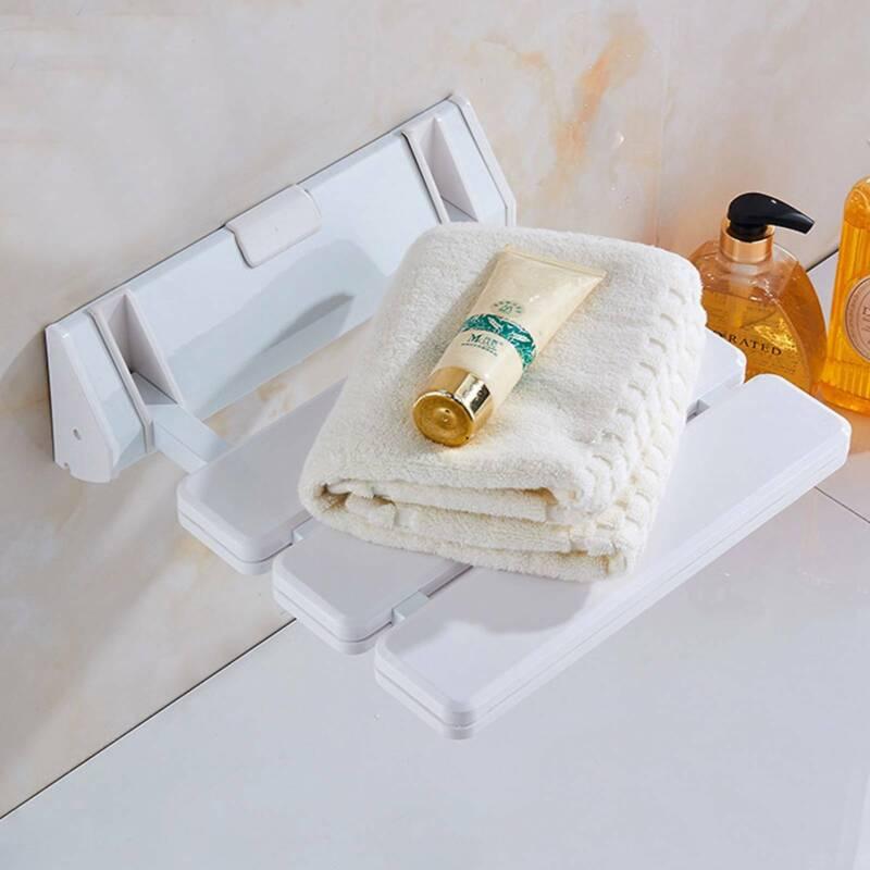 Klappbarer Duschsitz zur Wandmontage Dusch Klappsitz Dusch Hocker Duschhilfe