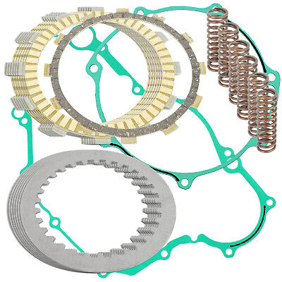 CLUTCH FRICTION PLATES and GASKET KIT Fits YAMAHA YFZ450 YFZ 450 2004-2009 Atv Clutch Friction Plates