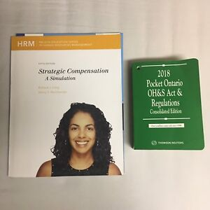 HR Management: Strategic Compensation and health and safety book