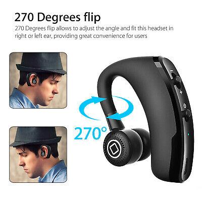 Wireless Earbuds Bluetooth In Ear Headset Stereo Headphone Earphone Handfree USA ()
