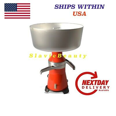 Cream Separator 80-100lh 120 V Usaca Plug 18 Metal Free Shipping From Usa