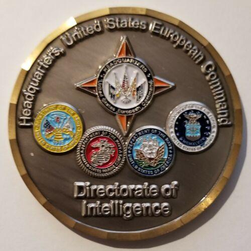 DEKALB JRISE Headquarters US European Command Directorate of Intelligence Coin