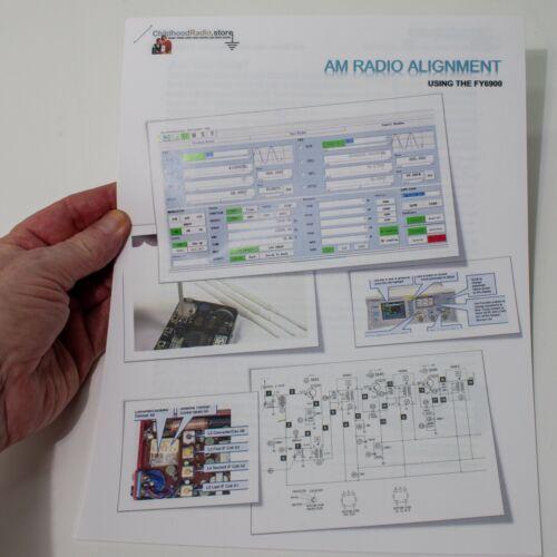 New Book: AM Radio Alignment Using the FY6900 Signal Generator