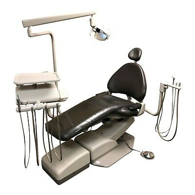 Adec 1040 Dental Chair Package W A-dec 2122 Radius Delivery Assist Arm Light