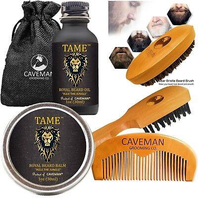Beard Oil for Men - Grooms Beard, Mustache, boosts hair growth. Beard Whole Kit.
