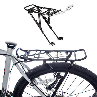 Bicycle Rear Rack Steel Carrier Seatpost Mount Durable Seat Seat Post A7R7