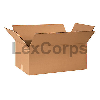 20 Qty 24x14x10 Shipping Boxes Lc Mailing Moving Cardboard Storage Packing