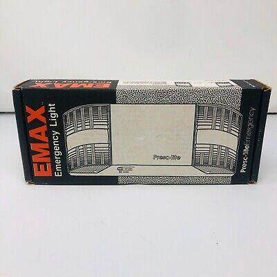 Vtg Prescolite Emergency Light Emax White Voltmeter Cordset C10-3368-01 New Old