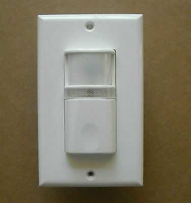 Vacancy Manual-on Occupancy Wall Motion Sensor Detector Switch Led Night Light