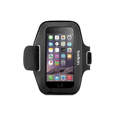 BELKIN+ARMBAND+FOR+IPHONE+6+6S+SPORT-FIT+VELCRO+SLIM+ADJUSTABL+BLACK+F8W500BTC00