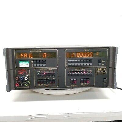 Datron 4200a Ac Standard Voltagecurrent Calibrator As Is Error Message