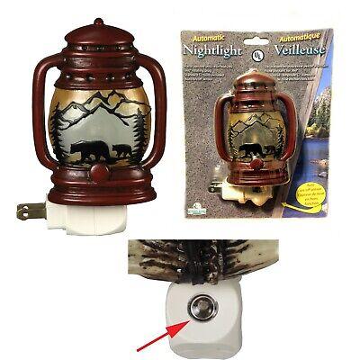Rivers Edge Lantern Auto Sensor Night Light Model 1265 NEW ()