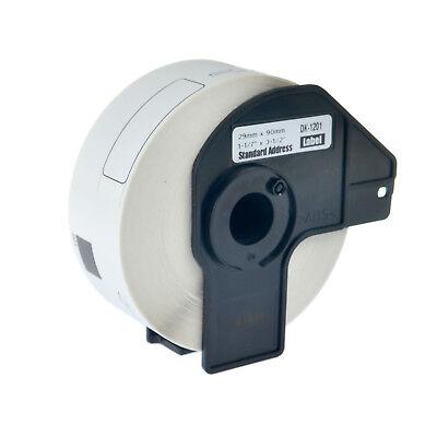 Dk-1201 Standard Address White Paper Label For Brother Dk1201 Ql-500ec 580n 710w
