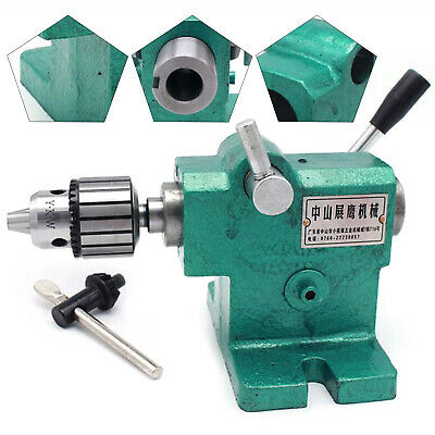 Lathe Tailstock Assembly Expansion Spindle Tailstock Tip Mt3 For Woodworking