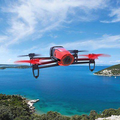 NEW Parrot Bebop Quadcopter Camera Drone 14MP Full HD 1080p RED original box