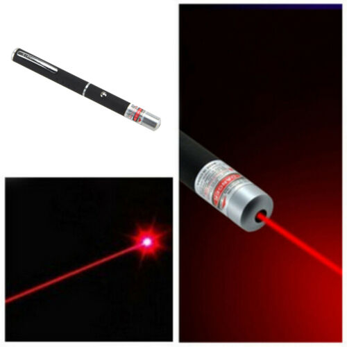 Professional High Powerful 5mW 650nm RED Laser Pointer Pen Beam Light Red Light