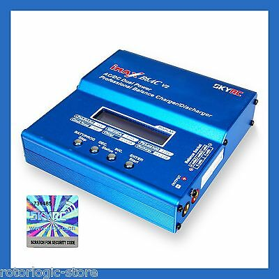 Genuine Skyrc Imax B6ac V2 Li Po Battery Balance Charger Dual Power Ac Dc  Oem