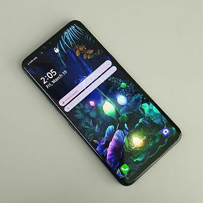 LG V50 ThinQ 5G Aurora Black LM-V500N 128GB Unlocked Very Good Condition