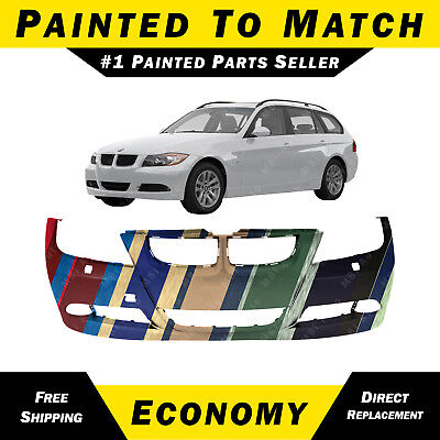 NEW Painted To Match - Front Bumper Cover Replacement for 2006-2008 BMW 3-Series