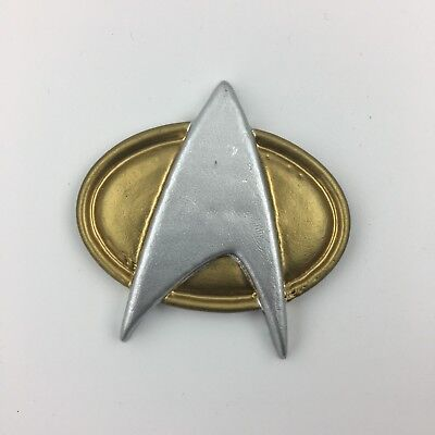 STAR TREK THE NEXT GENERATION FANMADE COMM BADGE COSTUME PROP HALLOWEEN - Halloween Fan Made Movies