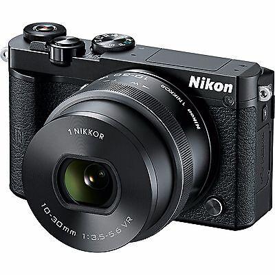 Nikon 1 J5 Mirrorless Digital Camera with 10-30mm Lens - Black