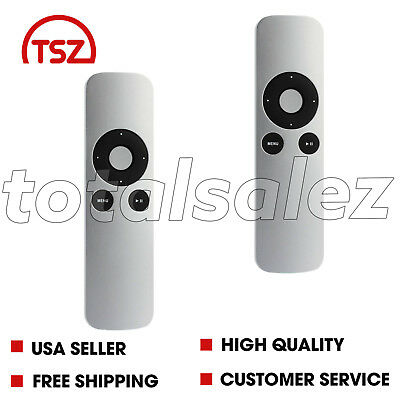 2x Universal Remote Control For MC377LL/A Apple TV 2 3 Music System Mac mc377ll