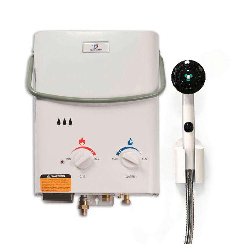 Eccotemp L5 On Demand Portable Liquid Propane Outdoor Tankless Hot Water Heater