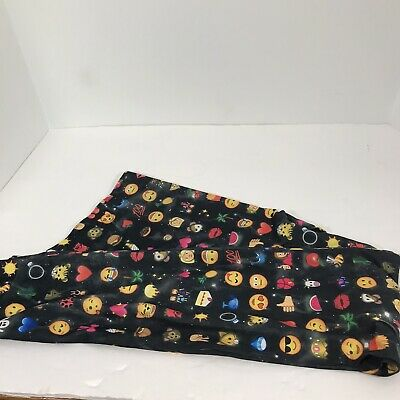 Adorable No Boundaries Emoji Leggings Size XL