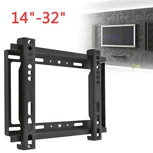 LCD TV Wall Bracket For Samsung Sony LG Panasonic 14 16 19 21 23 26 32 inch New