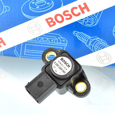 BOSCH 0261230193 Ladedrucksensor 3 Pin Mercedes A B C E G GLK M R S Smart Jeep