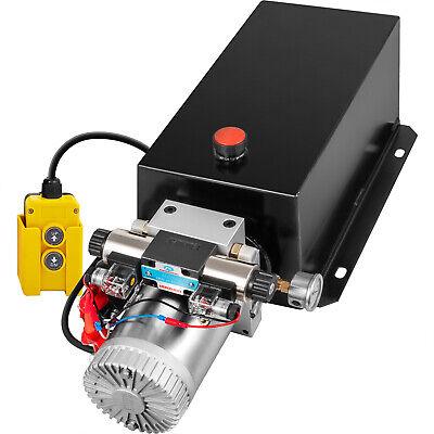 Hydraulic Power Unit Double Acting W Pressure Gauge Hydraulic Pump 16 Quart