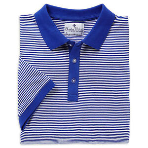 Charles Wilson Men's Plain and Stripe Polo Shirts New - L01